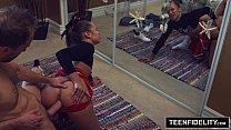 Image: TEENFIDELITY Cute Cheerleader Liza Rowe Shakes Her Pom Poms