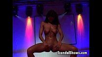 Horny stripper pleasuring a lucky guy Vorschaubild