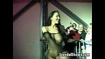Horny stripper pleasuring a lucky guy thumbnail