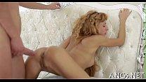 Electrifying doggy position pounding