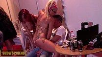 hot orgy in public