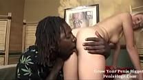 negro fuck an angel face hard butt nice