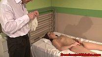 Submissive patient loves doctors punishment