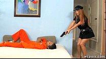 Screenshot Officer Jane t Interracial 3some