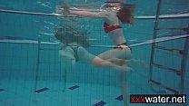 Bouncy booty underwater Katrin