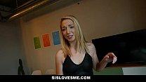 SisLovesMe - My stripper Sister Teases My Cock