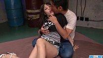 Deep penetration moments for sleazy Kyouko Maki thumbnail