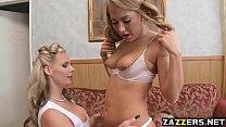 Sharing Chris jizz in an anal threesome thumbnail