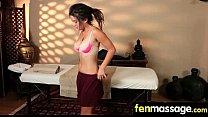 Gorgeous teenage massage 12