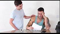 ManRoyale - Innocent-massage Verwandelt Sich In Sloppy Ficken Mit Gesichts -