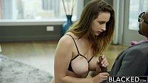 BLACKED Busty brunette Ashley Adams first BBC Vorschaubild