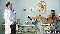 Mature Woman Eva Visits Gyno Doctor to get Gyno...