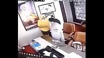 หลุดจากกล้องวงจรปิด บอสกับสาวขย่มควยกันในห้องทำงานก็สาวเอวรัวแบบไม่ยั้ง