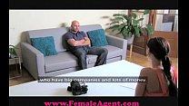 FemaleAgent Big cock casting video