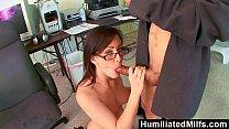 HumiliatedMilfs - Jennifer White Bent Over The Office Chair & Boned! Vorschaubild