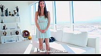 HD CastingCouch-X - Beautiful Molly Jane with natural tits auditioning for sex preview image