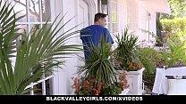 BlackValleyGirls - Hot Ebony Teen Fucks Swim Coach preview image