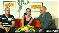 Teen Shy Brunette German Teen Threesome Free Porn