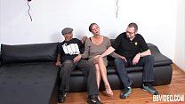 Chesty german milf fuck two guys pornhub video