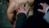 Lorenza Izzo and Ana de Armas threesome in Knoc...