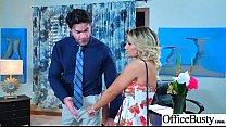 Office Horny Girl (Cali Carter) With Big Melon Tits Enjoy Hard Bang mov-14 preview image