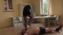 Soft Trampling in Tights - German Mistress Lady...