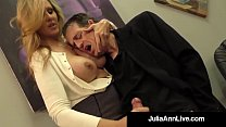 Adult Award Winner Julia Ann Drains A Cock With...