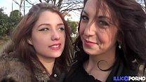 Angélique et Nora, un trio entre hard et sensuel