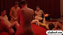Horny swingers swap partner and groupsex in the bedroom