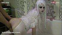 MyDirtyHobby - Naughty slutty babe creampied on halloween video