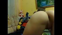 Linda de 18 anos da buceta gostosa gemendo na webcam