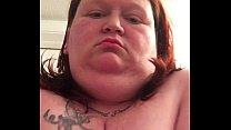 Amature Ssbbw Jessie big boobs and lipstick tease nipples