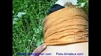 chata culona clavada en la chacra