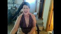 Old sag tittie butt slut enjoys singing on cam xvid Thumbnail
