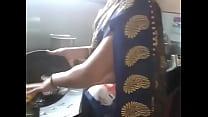 Desi Indian Kannada Aunty Hot Navel Hip