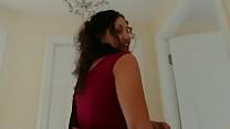 Red saree Bhabhi caught watching porn seduced and fucked by Devar dirty hindi audio desi chudai leaked scandal sextape bollywood POV Indian thumbnail