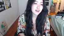 Rare Curvy Asian on cam!  - freakygirlscams.com porn image