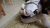 bondage asian policewoman