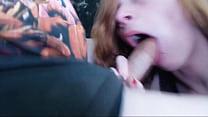 GamerGirlRoxy Deepthroating Lees Cock In Megadeth Teeshirt صورة