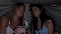 Hot lesbians Tiffany Watson and Gina Valentina