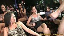 Amateur babes devouring big cock at a strip club - download porn videos
