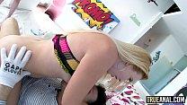 isabella mompov • TRUE ANAL Big booty gaping with Riley and Samantha thumbnail