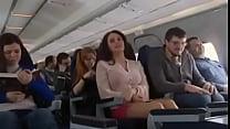 Mariya Shumakova Flashing tits in Plane- Free H...