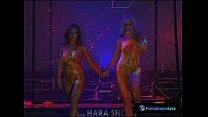 Dorothy Black and Ginger Jones performs naked o...