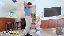 Bangbros - Tiny Blonde Riley Star Takes On Ricky Johnson's Big Black Monster Cock
