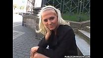 Czech Blondie in Public Invasion Sucking and Fucking 2 Vorschaubild
