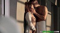 Lara Duro enjoys morning sex image