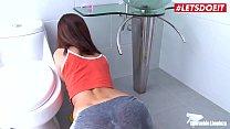 MamacitaZ - Petite Latina Teen Maid Has Rough S... Thumbnail