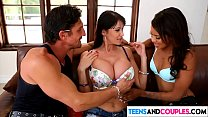 Beautiful teen gets seduced by dirty couple