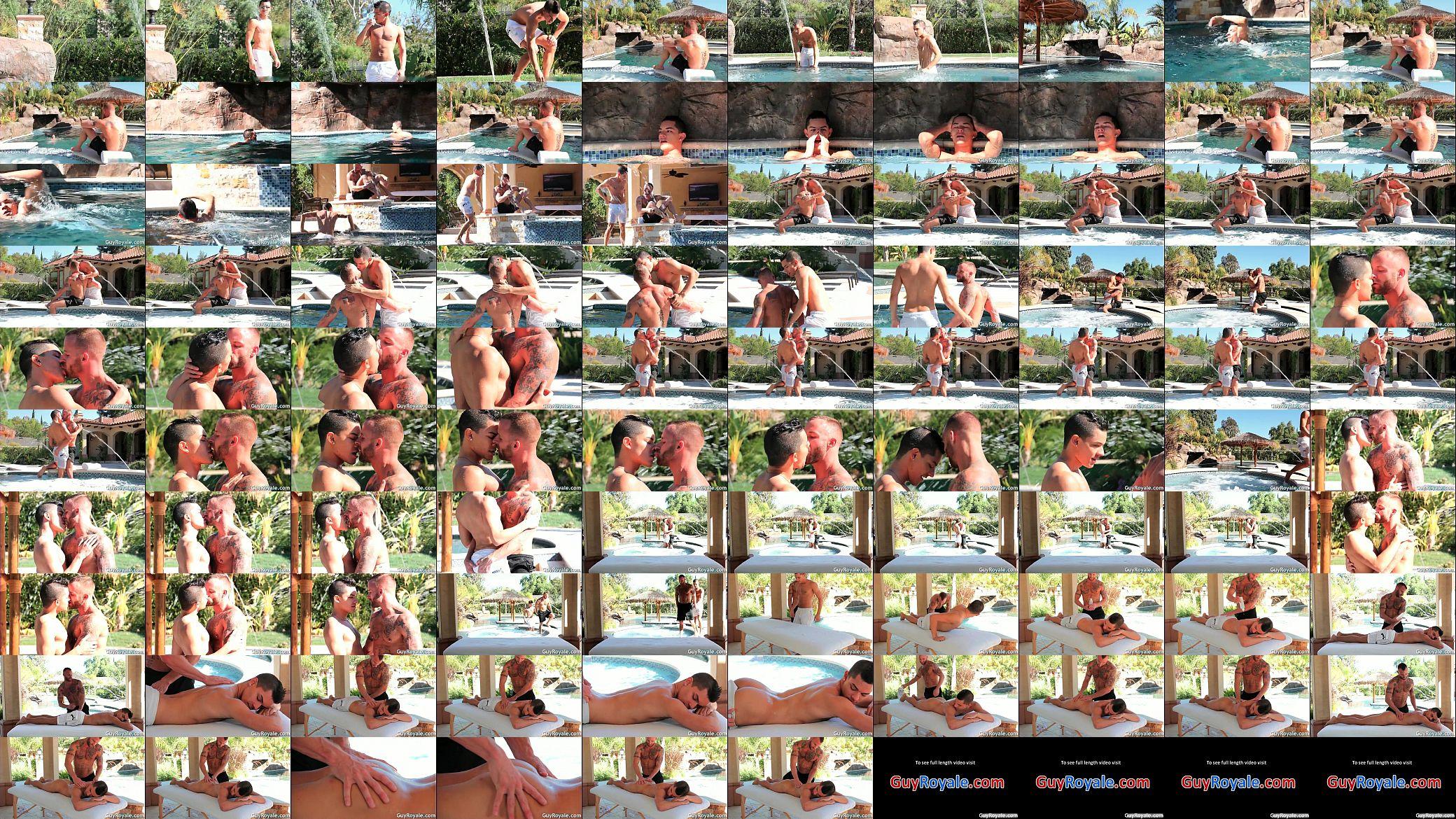 Massage And Tug Ethan Slade Derek Parker Hard Core